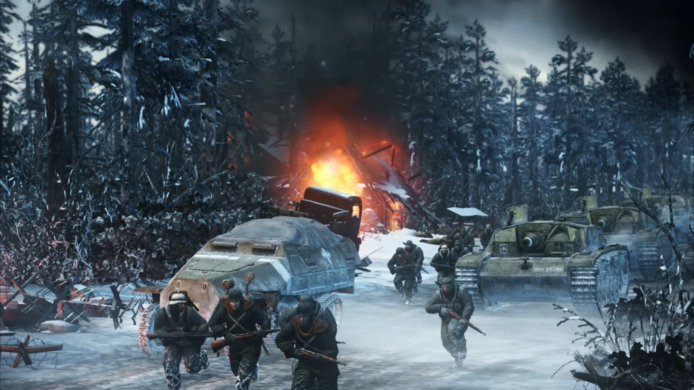 CoH 2 German Advance cutscene - ≡ Company of Heroes 2: Ardennes Assault Review 》 Game news, gameplays, comparisons on GAMMICKS.com