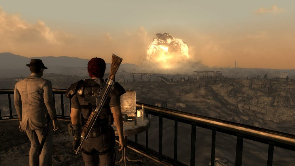 Blowing up Megaton (Fallout 3) | The Top 10 Most Insane Video Game Set Pieces | Gammicks.com