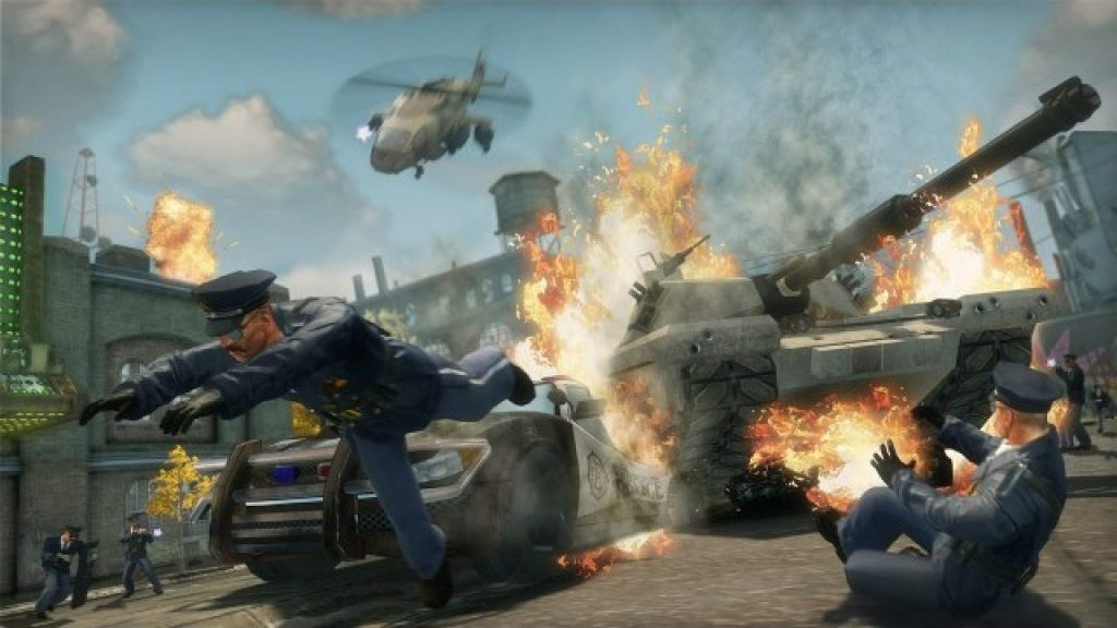 The Awesome Button | You can start anywhere, really | 10 Great Reasons to play the Saint's Row Games | Gammicks.com