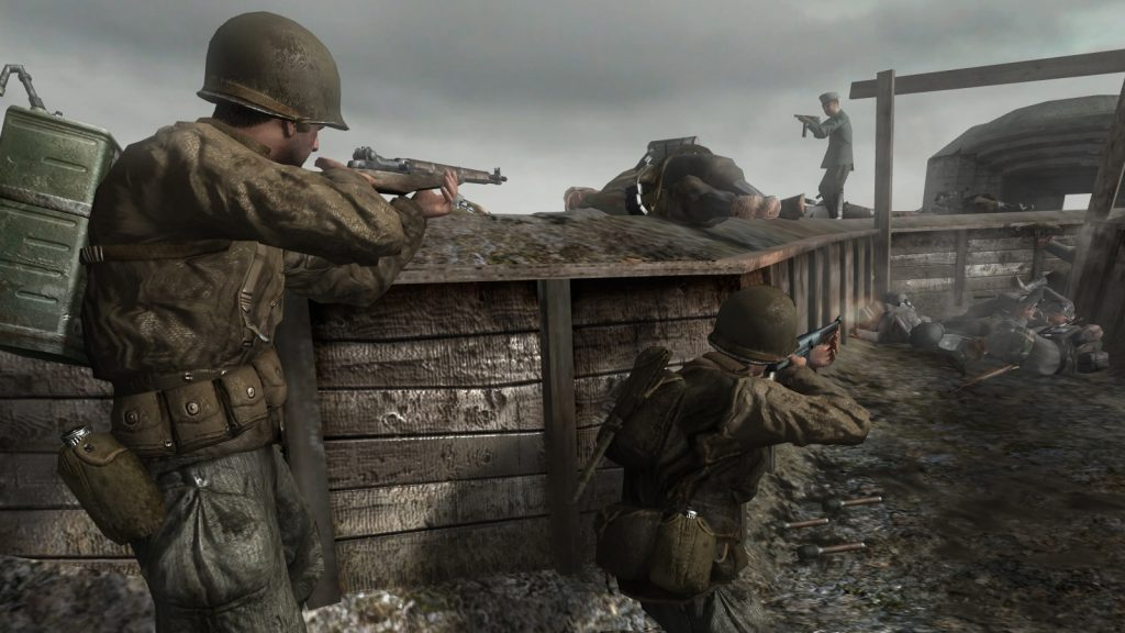 Call of Duty 2 | Call of Duty Games Ranked From Worst To Best | Gammicks.com
