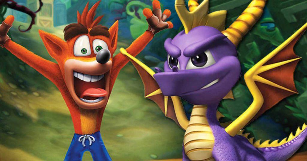 Spyro + Crash Remastered Bundle | 9 Biggest Deals of Sony's Days of Play Sale | Gammicks.com