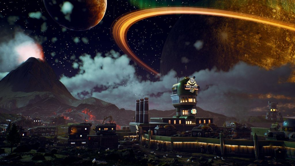 Halcyon - The Outer Worlds | Top 10 RPG Worlds to Explore | Zestradar